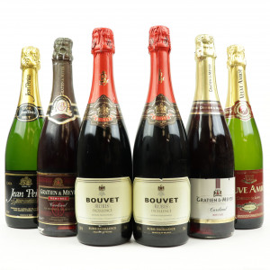 Assorted NV Sparkling Wines 6x75cl