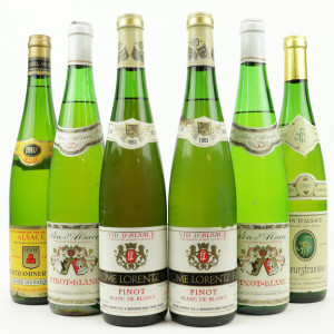 Assorted Alsace White Wines / 6 Bottles