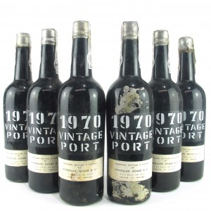 Gonzalez Byass 1970 Vintage Port 6x75cl