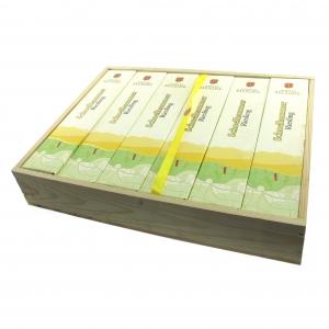 Hugel Schoelhammer Riesling 2008 Alsace 6x75cl / Original Wooden Case