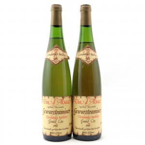 Heim Gewurztraminer Vendanges Tardives 1981 Alsace Grand Cru 2x70cl