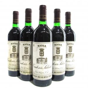 Conde De La Salceda 1985 Rioja Gran Reserva 5x75cl