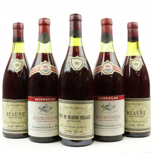 Assorted Burgundian Pinot Noir 5x75cl