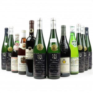Assorted German and Austrian Wines / 12 Bottles