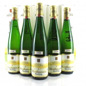 """Hugel """"Schoelhammer"""" Riesling 2008 Alsace 5x75cl"""