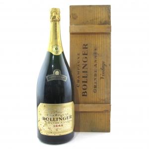 """Bollinger """"Grande Annee"""" 1985 Vintage Champagne 150cl"""