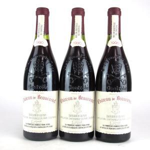 Ch. De Beaucastel 1990 Chateauneuf-Du-Pape 3x75cl