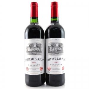 Ch. Camplay 2009 Bordeaux 2x75cl