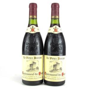 Le Vieux Donjon 1985 Chateauneuf-Du-Pape 2x75cl