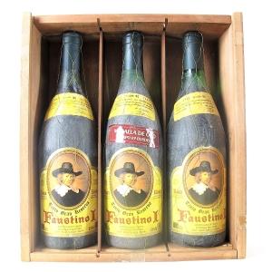 Faustino 1964, 1970, 1982 Rioja Gran Reserva 3x75cl