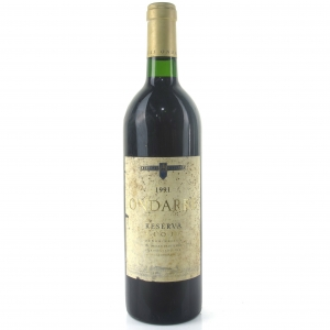 Ondarre 1991 Rioja Reserva