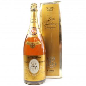 Louis Roederer Cristal 1979 Vintage Champagne 150cl