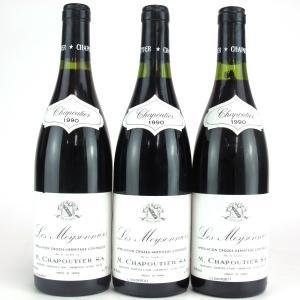 """M. Chapoutier """"Les Meysonniers"""" 1990 Crozes Hermitage 3x75cl"""