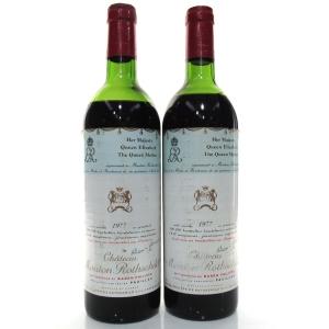 Ch. Mouton-Rothschild 1977 Pauillac 1er-Cru 2x75cl