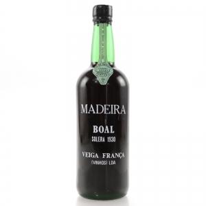Veiga Solera 1930 Boal Madeira