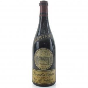 Bertani Reciotto Della Valpolicella 1959 Amarone