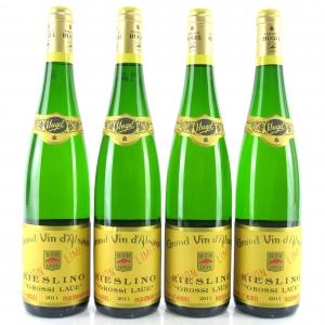 "Hugel ""Grossi Laue"" Riesling 2011 Alsace 4x75cl"