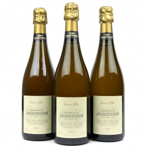 Jacquesson Cuvee No 731 Brut NV Champagne 3x75cl