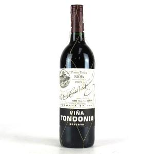 Viña Tondonia 2005 Rioja Reserva