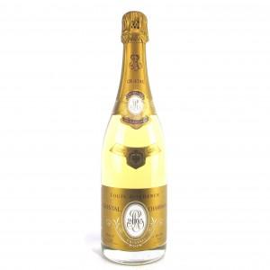 """Louis Roederer """"Cristal"""" 2005 Vintage Champagne"""