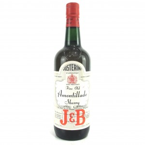 "Justerini & Brooks ""Fine Old"" Amontillado Sherry"