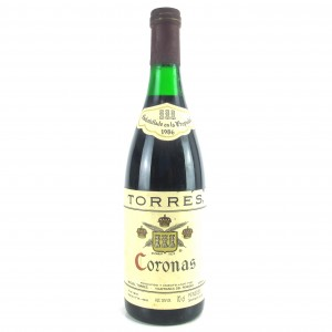 "Torres ""Coronas"" 1986 Penedes Reserva"