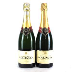 Bollinger Brut NV Champagne 2x75cl