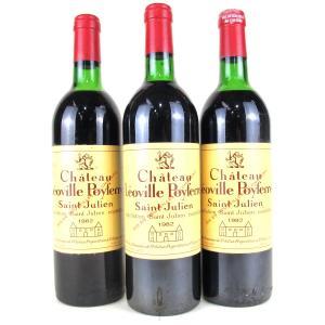 Ch. Leoville Poyferre 1982 Saint Julien 2eme-Cru 3x75cl
