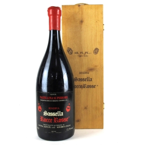"A.P.Perego ""Sassella"" Nebbiolo 1991 Valtellina 300cl"