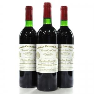 Ch. Cheval Blanc 1986 St-Emilion Grand Cru 3x75cl