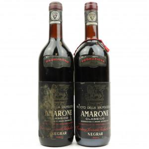 Negrar Recioto Della Valpolicella 1968 Verona 2x72cl