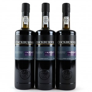 Cockburn's Acclaimed Ruby Port 3x75cl