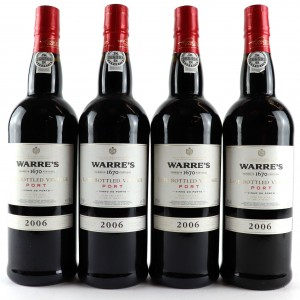 Warre's 2006 LBV Port 4x75cl