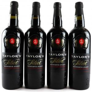 Taylor's Select Reserve Port 4x75cl