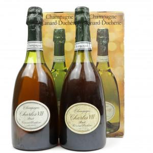 Canard Duchene Charles VII Brut NV Champagne 2x75cl