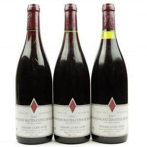 Dom. L.Jacob 2001 Hautes-Cotes De Beaune 3x75cl