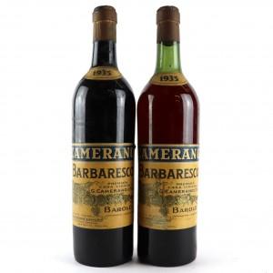 Camerano 1935 Barbaresco / 2 Bottles