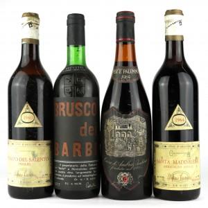 Assorted Italian Wines / 4 Bottles