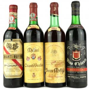 Assorted Chianti / 4 Bottles