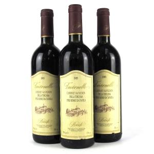 "Banfi ""Tavernelle"" Cabernet Sauvignon 1985 Tuscany 3x75cl"