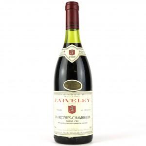 Faiveley 1989 Latricieres-Chambertin Grand-Cru