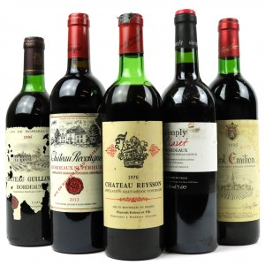 Assorted French Red Wines 5x75cl