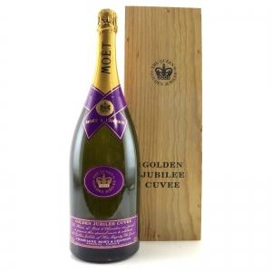 Moet & Chandon NV Champagne 150cl / 2002 Golden Jubilee Cuvee