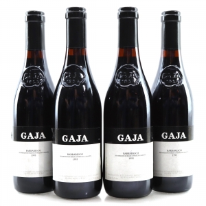 Gaja 1995 Barbaresco 4x37.5cl