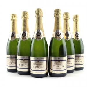 P.Boutet Brut NV Champagne 6x75cl