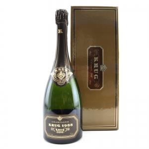 Krug 1988 Vintage Champagne