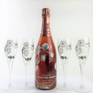 Perrier-Jouet 1978 Rose Champagne Giftset