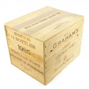 Graham's 1985 Vintage Port 12x75cl / OWC