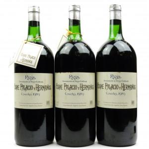Cosme Palacio Y Hermanos 1989 Rioja Crianza 3x150cl