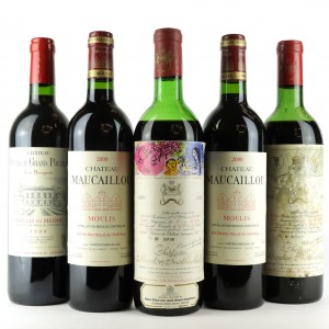 Assorted Bordeaux Red Wines 5x75cl